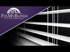 "This video will demonstrate how to shorten your Faux Wood blind when it has ""looping lift strings"". For information on blind parts, string and instruction - ..."