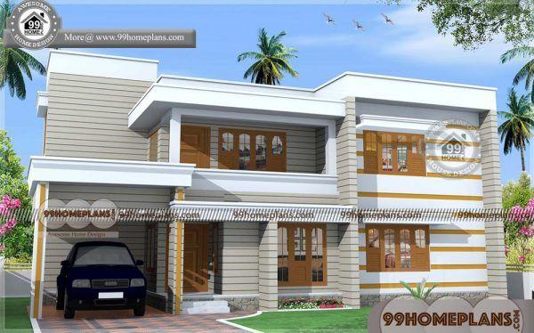 Free Indian Home Design Plans 390 Modern House Floor Plan Designs Flat Roof House Kerala House Design Modern House Floor Plans