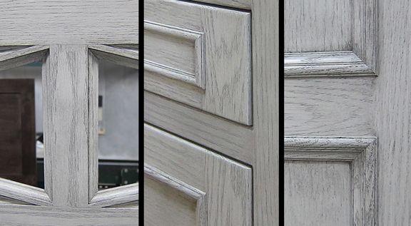 Grey Stain On Oak Kitchen Cabinets