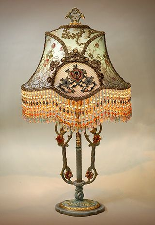 Marie Antionette Style Victorian Lampshade Light My