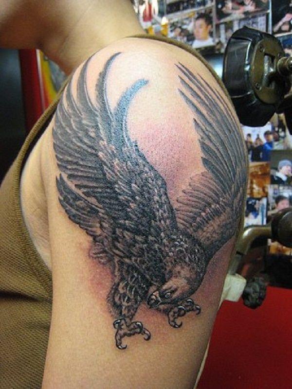 Adler Tätowierung