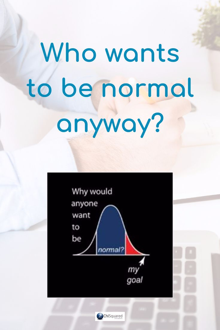 Who Wants to be Normal Anyway? #normaldistribution #statistics