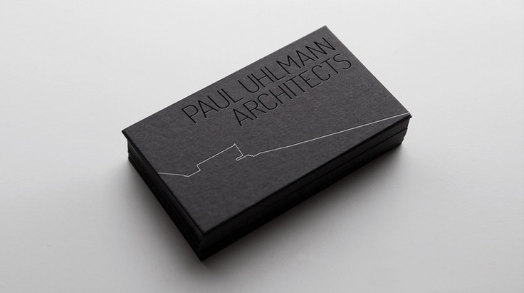 Paul Uhlmann Architects // brand identity, stationery