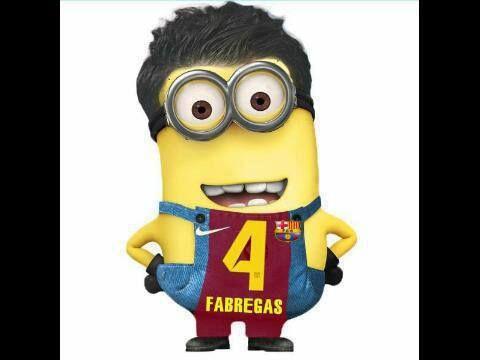 Fabregas Football Minion
