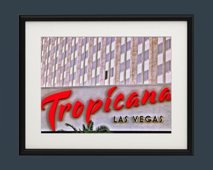 Wall Art,Photography,Tropicana,Hotel,The Strip,Las Vegas,Nevada,Architecture,Room Decor,Dorm Art,Large Art Print,Fine Art,Rat Pack,Retro, by TheWildWestArtStore on Etsy