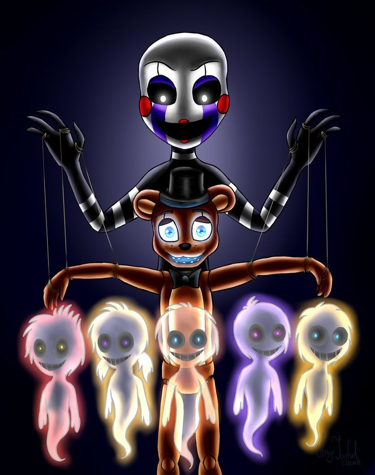 Another puppet (Five Nights at Freddy's) by ArtyJoyful on DeviantArt