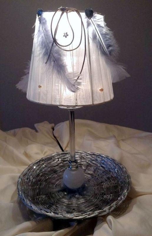 Lampe tendresse - lampe de table - Les Trucs à Titine - Fait Maison
