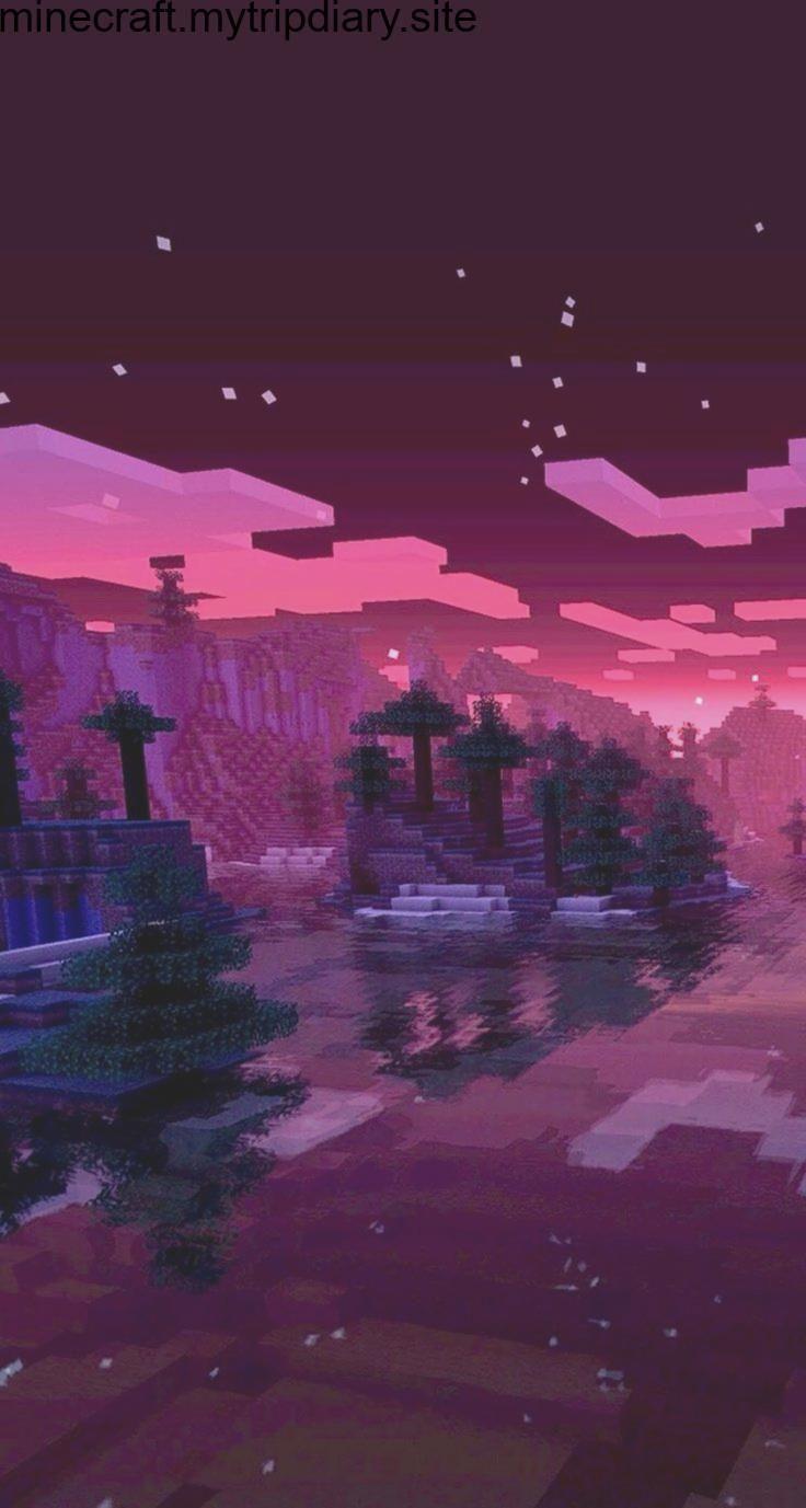 Minecraft Sunset Wallpaper Minecraft Wallpaper Minecraft Pictures Minecraft Shaders