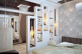 Картинки по запросу зонирование комнаты гипсокартонными перегородками