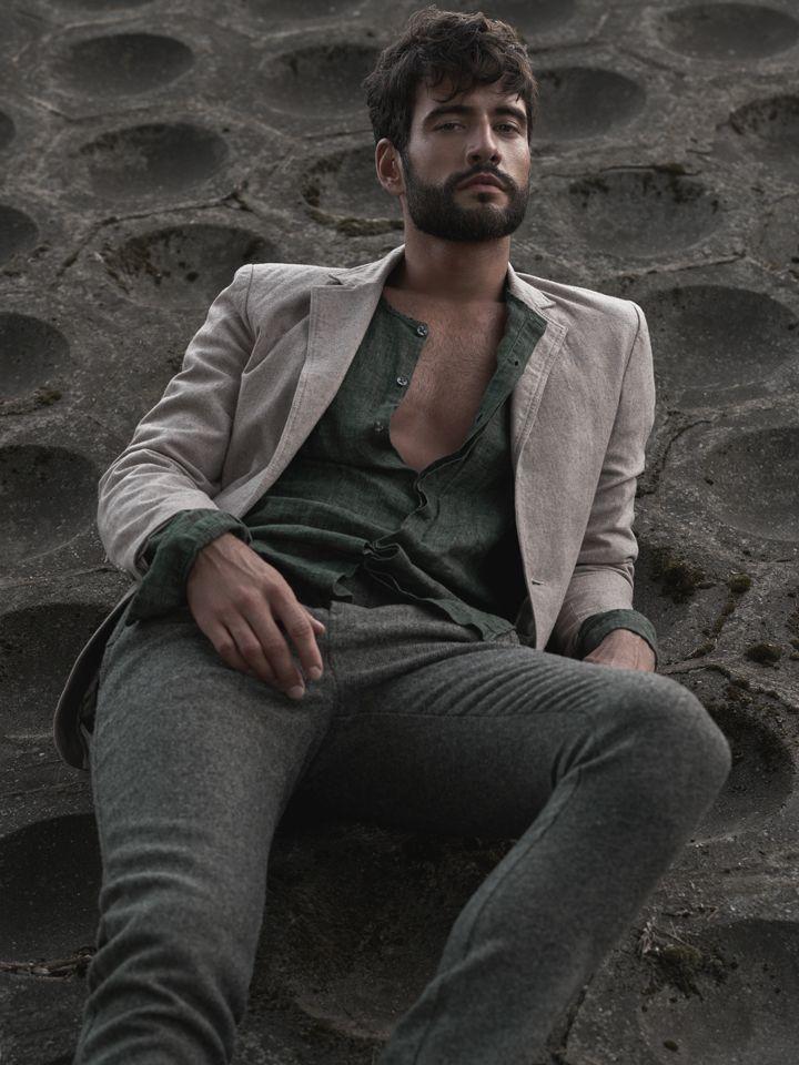 Piotr Czaykowski by Mateusz Tyszkiewicz  #fashion #man #photography #portrait #editorial #maneditorial #shirt #model #topmodel #face #polish #poland