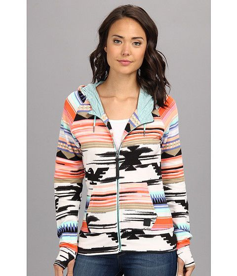 Women's, Bench, size S, 'Kerrena' zip-up hoodie, aztec print #Bench #Hoodie