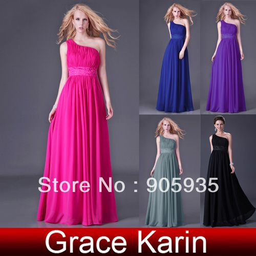 Special! Fast Delivery 1pc Long Coctail Evening Dresses, Chiffon Bridesmaid Gown 8 Sizes CL4107 $28.46