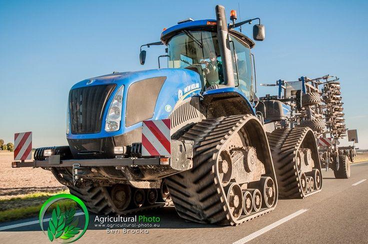 New Holland T9.565 SmartTrax II Tractor V 2.0 - Farming Simulator ...