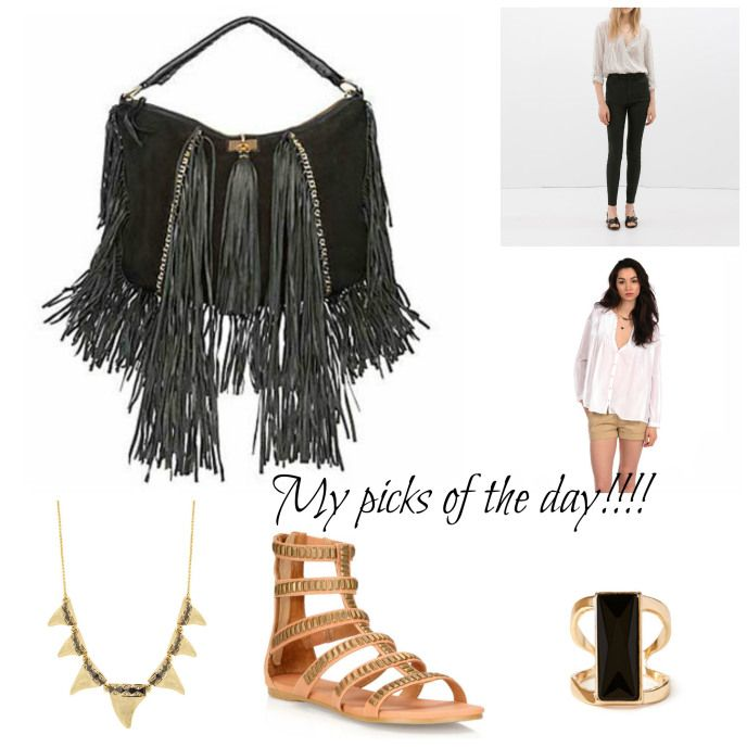 Bohemian comfy outfit for the day!