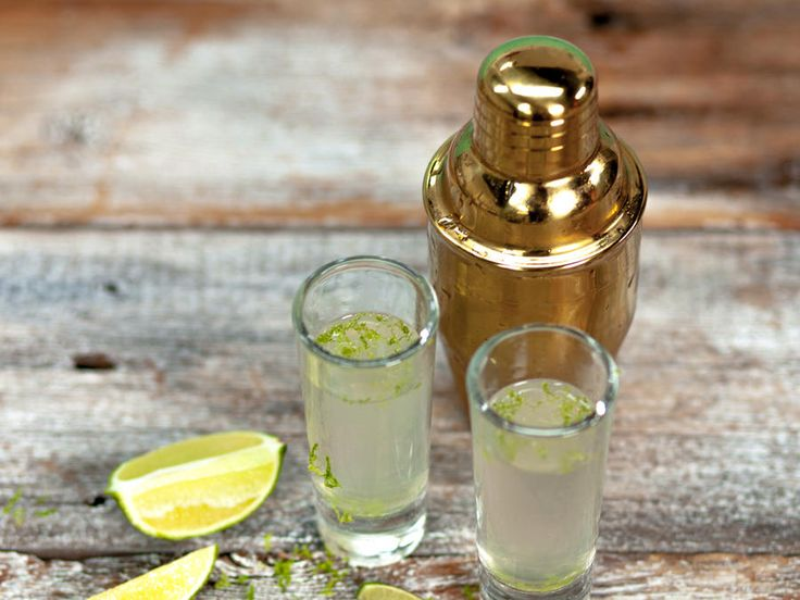 A combination of vodka, triple sec, and lime juice are guaranteed to get the party started. Pace yourself– these shooters are strong!