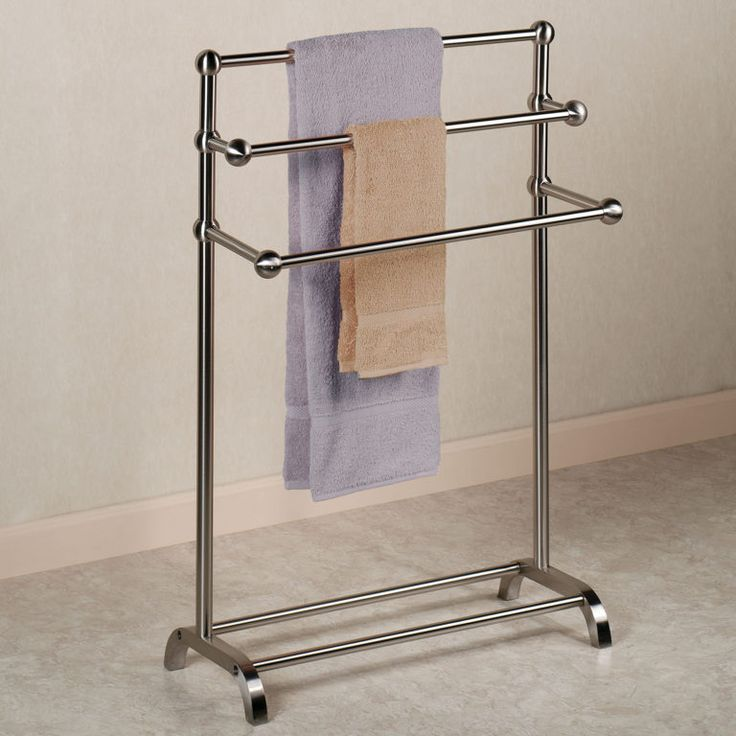 Stylish towel stand concept interior design pinterest for Bathroom towel racks