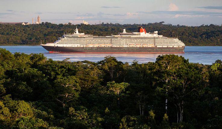 Queen Victoria, l'elegante nave della regale flotta Cunard, ha tagliato ieri il nastro di un importante traguardo della sua attività quando, per