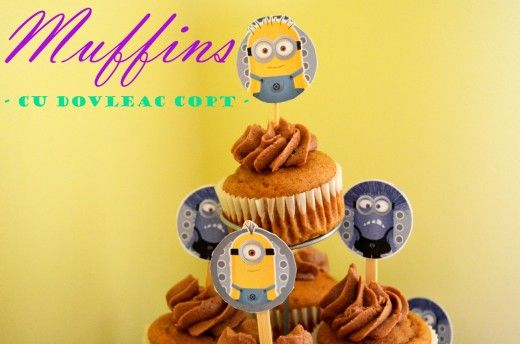 muffins cu piure de dovleac