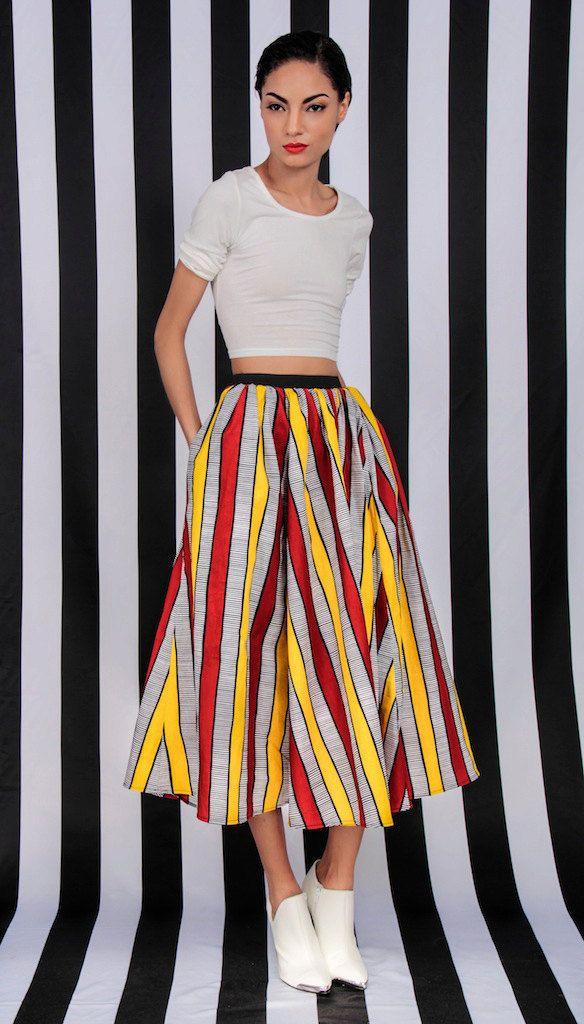 Cupro Skirt - Scrabble Skirt by VIDA VIDA Buy Cheap Collections Footlocker Pictures Online bKhRkEC