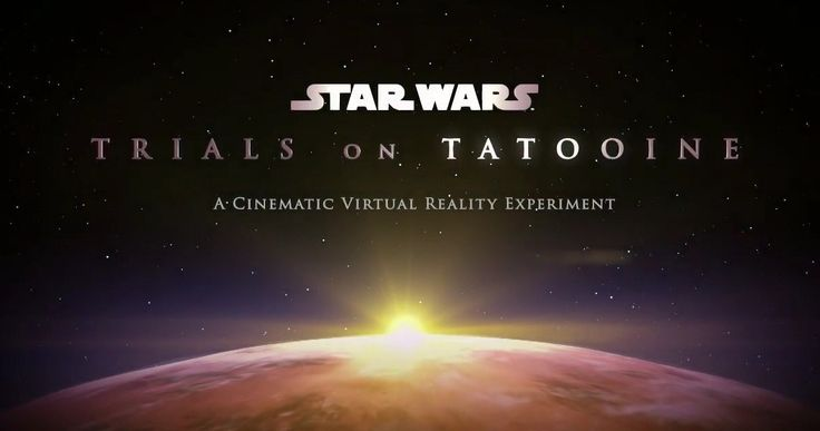 'Star Wars' VR Game Trailer Takes You Inside the World of Tatooine -- Fans will be able to enter the 'Star Wars' universe through the HTC Vive virtual reality headset with the new game 'Star Wars: Trials of Tatooine'. -- http://movieweb.com/star-wars-virtual-reality-game-trailer-tatooine/