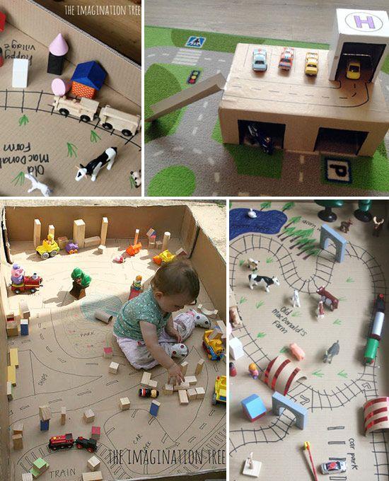 Маленький мир в большой картонной коробке | Uşaq Bilik Portalı