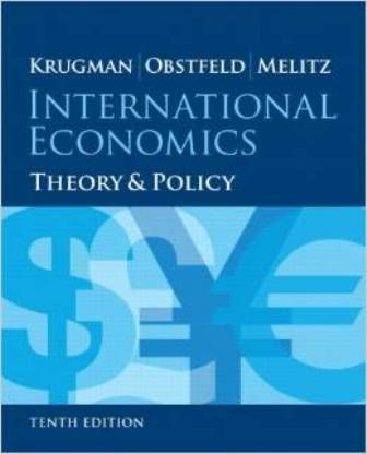 International economics: theory and policy (PRINT VERSION) http://biblioteca.cepal.org/record=b1252277~S0*spi  It provides engaging, balanced coverage of the key concepts and practical applications of the two main topic areas of the discipline,  international trade and international finance.