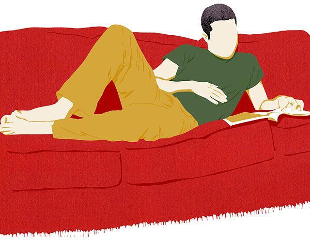 Lounge illustration by Amy DeVoogd