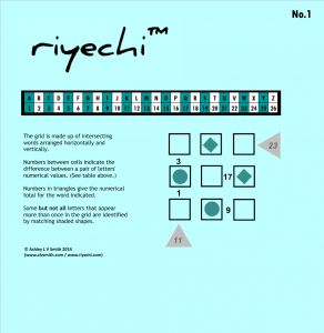 Introducing the Riyechi™ Puzzle