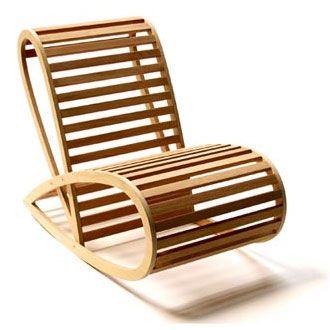 David Trubridge Rocking Chair