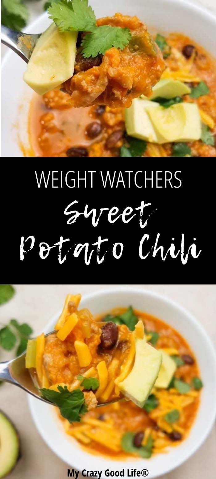 There's nothing better than a hearty bowl of chili. This Weight Watchers swe…