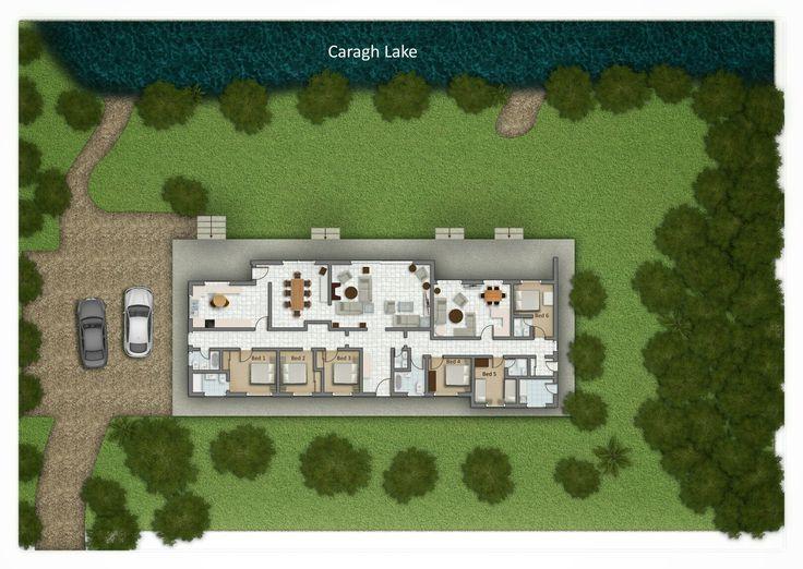 Caragh Lake House Floor Plan