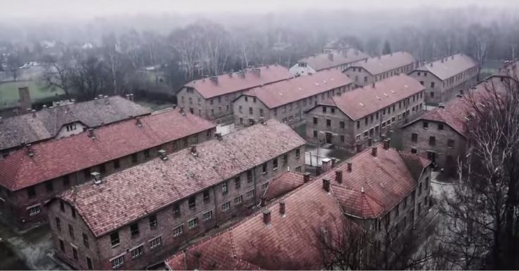 Heart-Breaking Drone Footage Of Nazi Death Camp Auschwitz