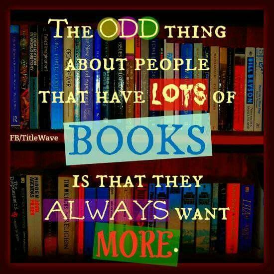 Books I want MORE!!!