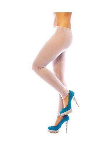 #Damen #Leggings #lang in #vielen #Farben aus #weicher #Viscose #Onesize…