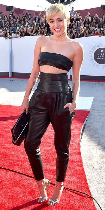 Miley Cyrus on the Red Carpet