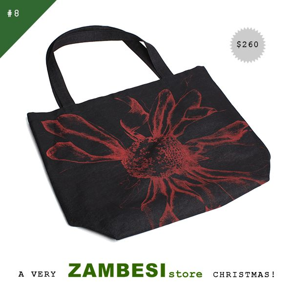 "#8 selected by Elisabeth Findlay! ""For the person who has everything and needs to fit it into their bag! This is the ideal carry-all, emblazoned with the iconic Zambesi sunflower."" the zambesi shopper is available instore & online at www.ZAMBESIstore.com ! x"