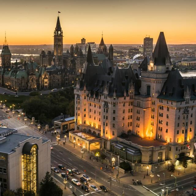 Chateau Laurier - Credit: Ottawa Tourism