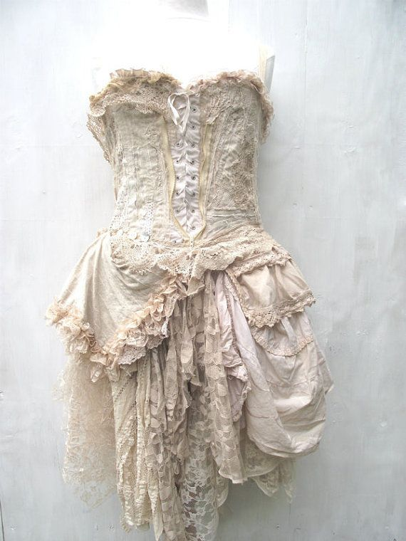 RESERVED FOR HELEN.......Honeydew dress by NaturallyBohemian, £200.00