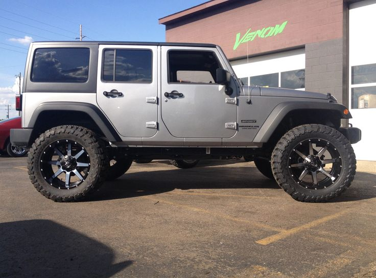 "Jeep Wrangler Offroad >> 2014 Jeep Wrangler JK with 3"" 8 arm @TeraFlex suspension, 22"" @mhtwheels Fuel Offroad Maverick ..."