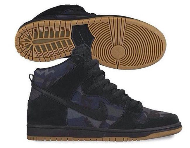 "Preview: Nike SB Dunk High ""Dark Blue Camo"""