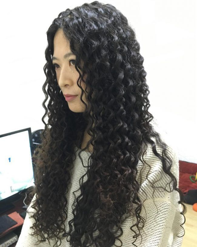 Spiral Perm Hairstyles Elegant Long and Lovely My Hair Pinterest