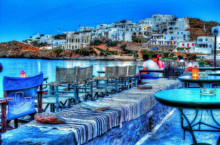 Port of Loutra, Kythnos island, Cyclades, Greece by Dimitris Kozadinos on 500px