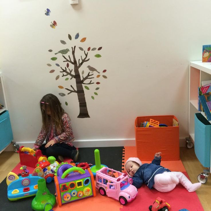 Hub Cafe children's area in use