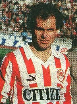 Σεμερτζίδης Γιώργος. Θεσσαλονίκη. (1957). Επιθετικός. Από το 1985-1987. (41 συμμετοχές 2 goals).