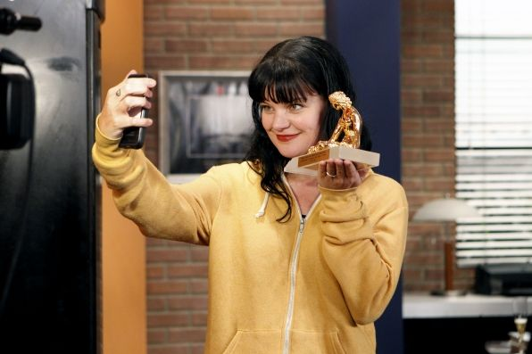 Pauley Perrette celebrates NCIS's International Audience Award win for Most Watched Drama in the World
