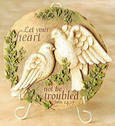 129 best doves images on pinterest holy spirit peace for Garden design bible