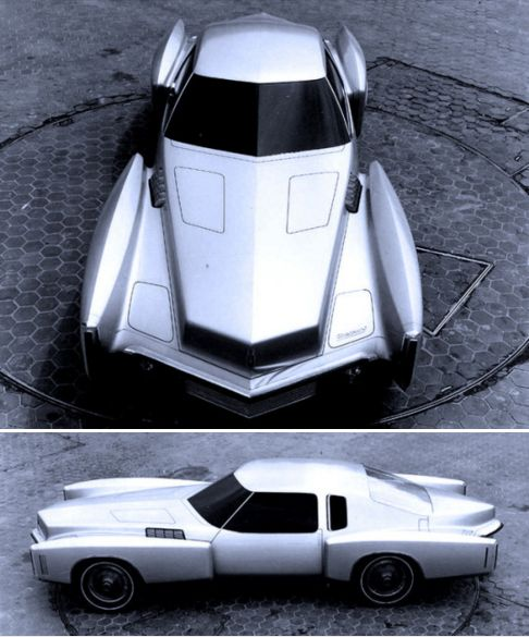 Oldsmobile Toronado Prototype, 1969. A design study for the second generation To…