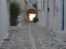 Parikia street Paros