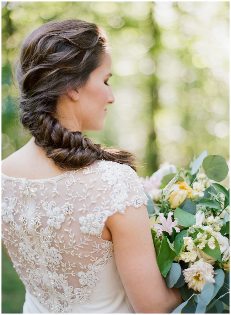 Best 25+ Fishtail braid wedding ideas on Pinterest | Messy ...