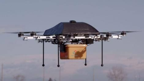Domino's Pizza takes a flier on drone deliveries looks to 2016 launch -> http://www.techradar.com/1327091  Domino's pizza could be the first thing that you have delivered to your house by drone with the food giant taking on the likes of Amazon to be the first to move beyond the trial stage of unmanned deliveries.  Amazon has earmarked the UK as a great testing ground for its drone plans with the UK Civil Aviation Authority telling TechRadar that it was hoping to learn from the trials…